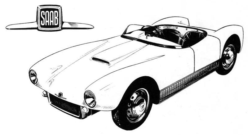 Sonett I 1956 Saab Nation